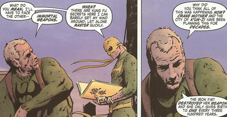 Immortal iron fist 5 not necessary