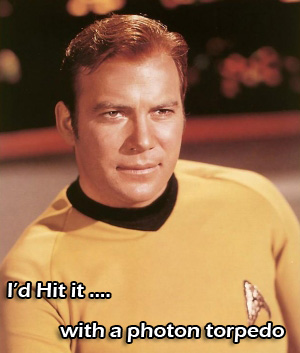 James T Kirk Would Hit It