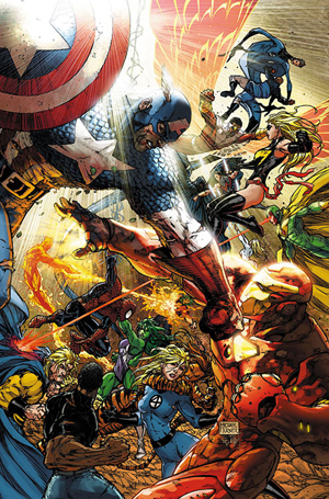 Civil War #7 Turner Variant Cover - Click for Larger Version
